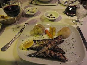 Photo: Fried sardinesat Porto Mar
