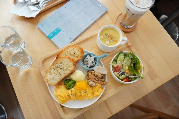 質感雅緻帶點小清新早午餐 T'WIN coffee 咖啡'云 輕食 咖啡 早午餐(可預約訂位)