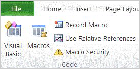 Use macros in a message in 2013 version