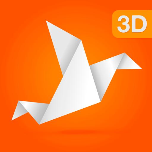 Origami Bird Base   512x512