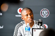 Luvuyo Memela of Orlando Pirates during the Orlando Pirates media open day at Rand Stadium on January 13, 2020 in Johannesburg, South Africa.