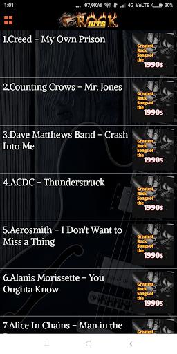 70s 80s 90s Rock Music Hits screenshot 2