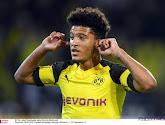 Jadon Sancho was dé uitblinker in het duel tussen Borussia Dortmunt en Paderborn