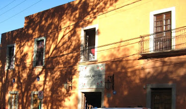 Photo: don Quijote Spanish language school was our home every morning for two weeks.