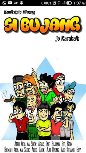 Si Bujang Komik Strip Minang