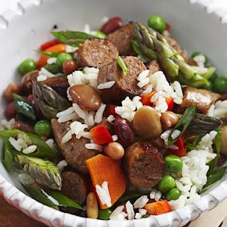 Rice and Sausage Salad