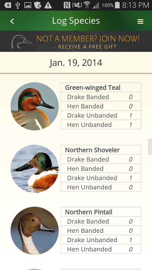 Ducks Unlimited- screenshot
