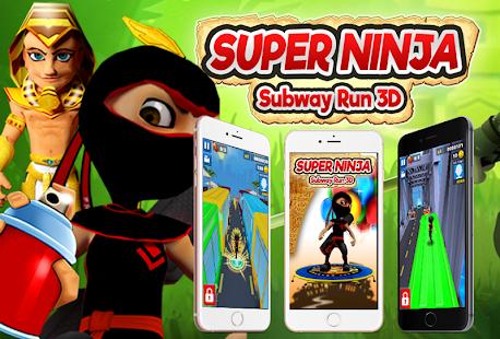 Super Ninja Subway Run 3D - náhled