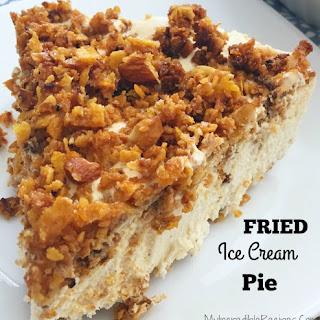 """Fried"" Ice Cream Pie!"
