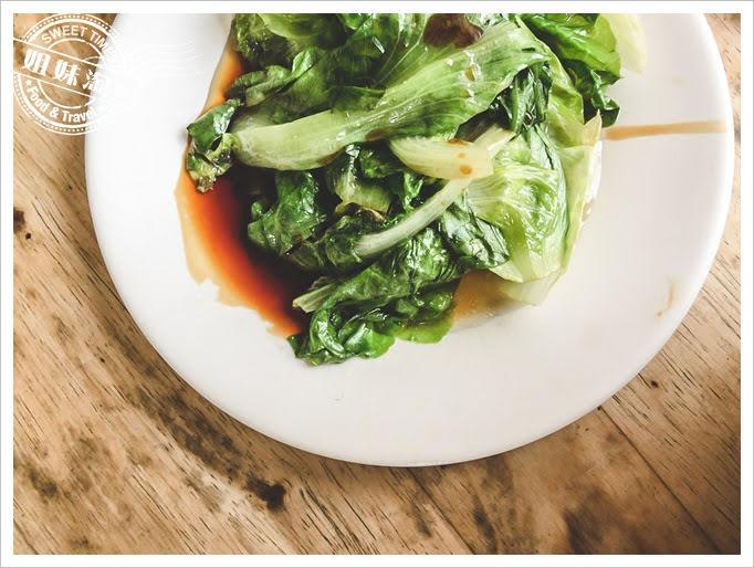 嘉義第一名火雞肉飯五福青菜