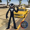 Venom Spider Stickman Rope Hero Gangstar Crime icon
