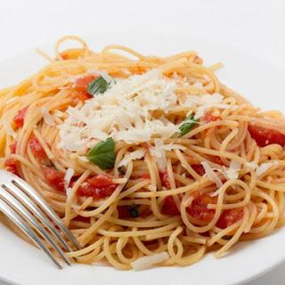 Olive Garden Capellini Pomodoro.