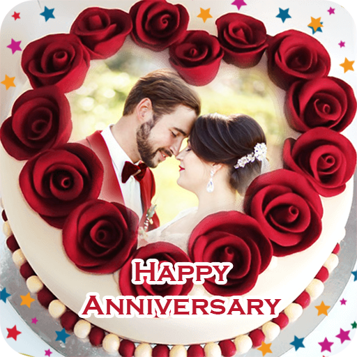 Name Photo On Anniversary Cake Apps On Google Play