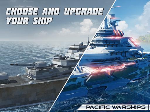 Pacific Warships: World of Naval PvP Warfare apktram screenshots 13