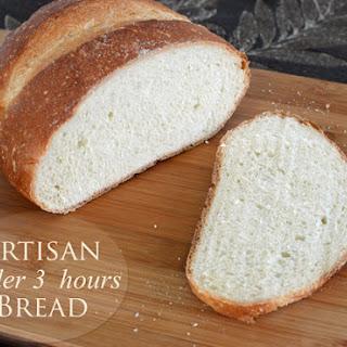 Crusty Artisan Bread in Under 3 Hours