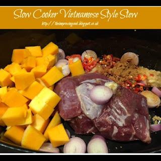Slow Cooker Vietnamese Style Beef Stew