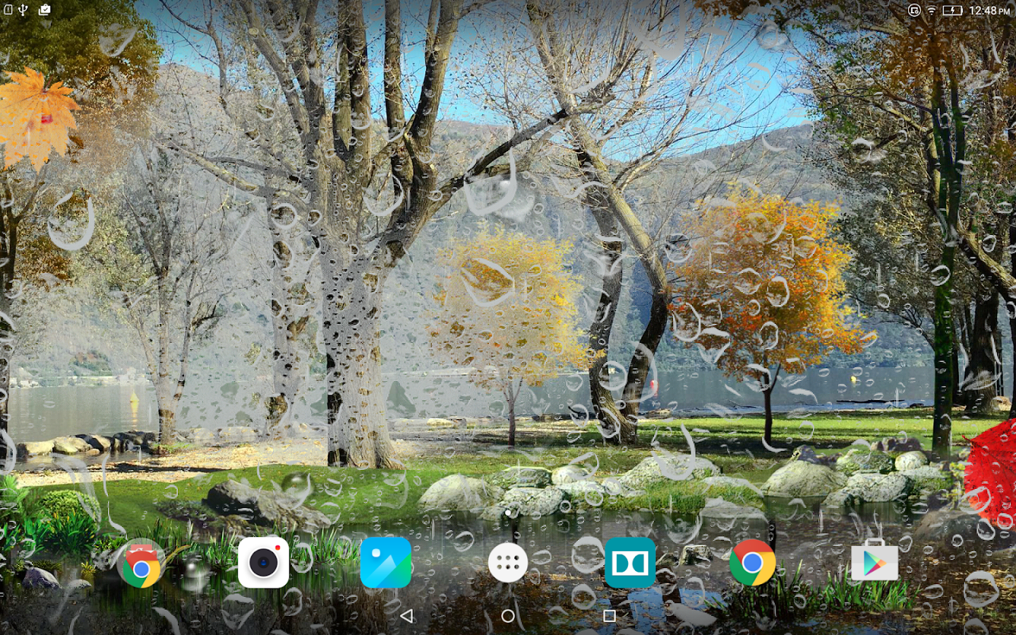 Autumn Live Wallpaper HD- screenshot