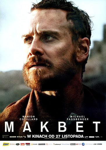 Przód ulotki filmu 'Makbet'