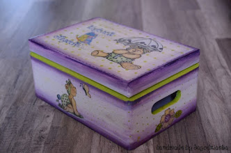Photo: wooden box for kids 3