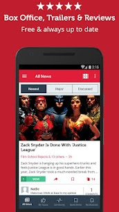 Movie & Box Office News App Download For Android and iPhone 1