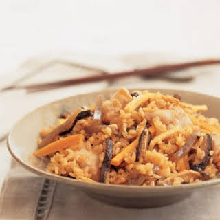 Rice With Five Things.