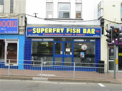 promo code 321bd e2e8d Superfry Fish Bar on High Street - Fish & Chip Shops in Town ...
