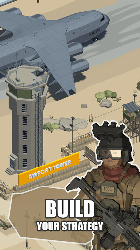 Idle Warzone 3d: Military Game - Army Tycoon 1.1 screenshots 3