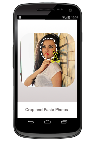 Crop and Paste Photos