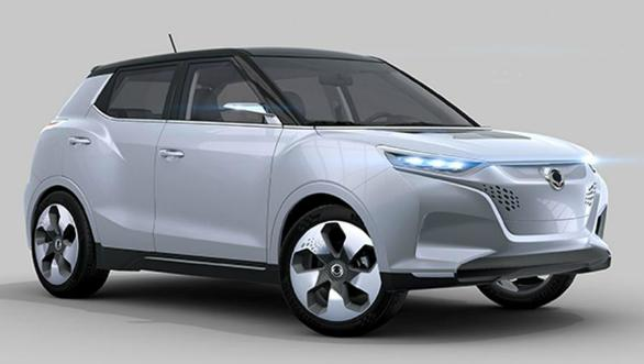 Image result for xuv300 electric
