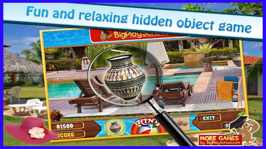 android A Pool - Finding Hidden Object Screenshot 0