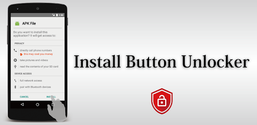 Install Button Unlocker - Fix Screen Overlay Error - Apps on