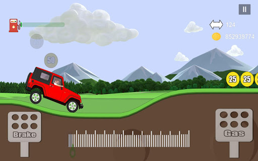 Car Mountain Hill Driver - Climb Racing Game 1.0.1 screenshots 4