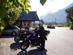 Photo: Bikerfrühstück im Drautal N46 44.350 E13 03.769