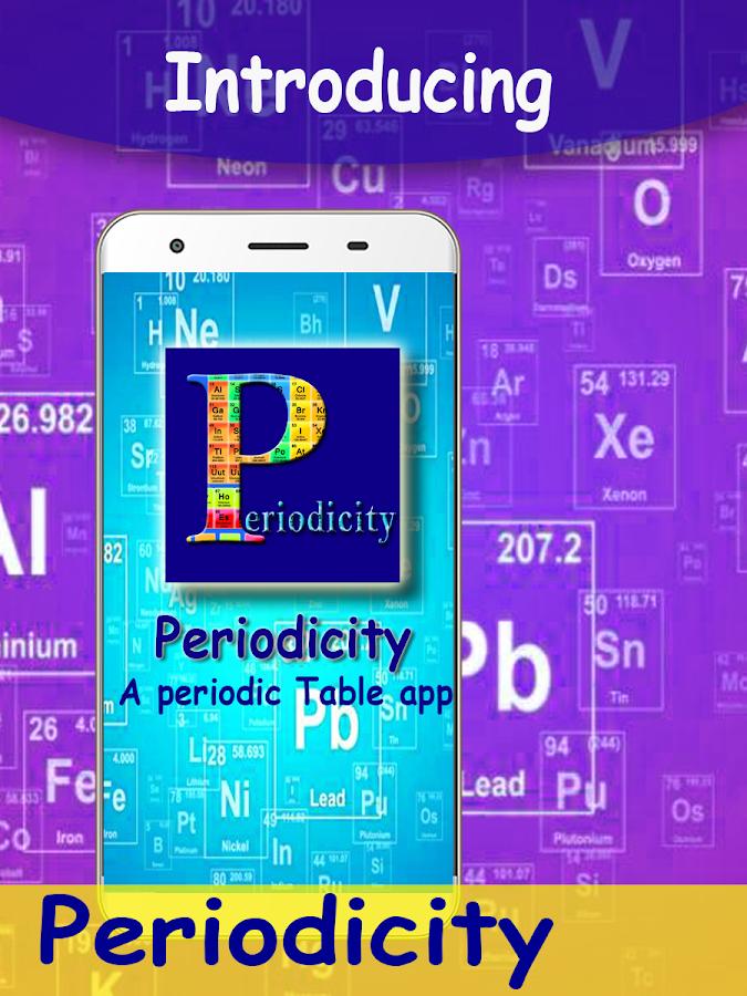 Periodicity best periodic table chemistry app android apps on periodicity best periodic table chemistry app screenshot urtaz Images