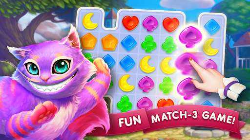 WonderMatchu2122uff0dMatch-3 Puzzle Alice's Adventure 2020 2.2 screenshots 6