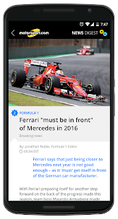 Motorsport.com News Digest - náhled