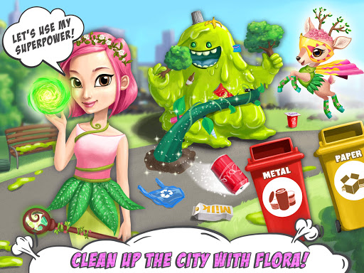 Power Girls Super City - Superhero Salon & Pets apktram screenshots 14