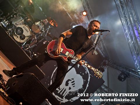 Photo: I Rise Against dal vivo al Magnolia. (http://bit.ly/Mfp25r)