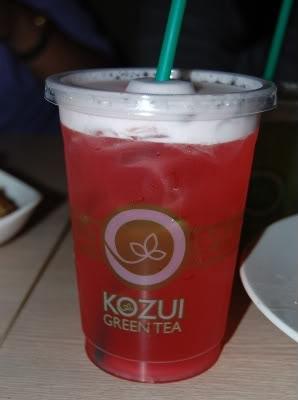 very berry fruit tea