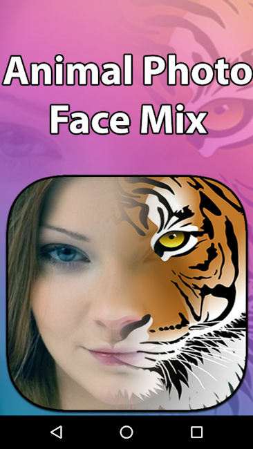 #1. Animal Photo Face Mix (Android)