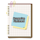 Hungarian simple flash card