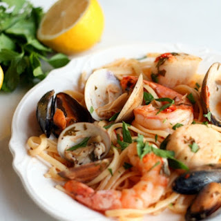 Shrimp And Clam Linguine Recipes