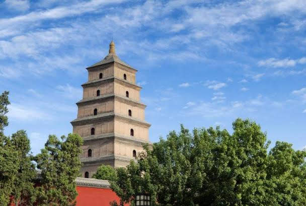 Big Wild Goose Pagoda (Dayanta)