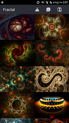 android Cool Fractal Wallpapers Screenshot 3