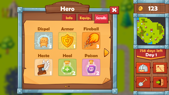Heroes 2 : The Undead King- screenshot thumbnail