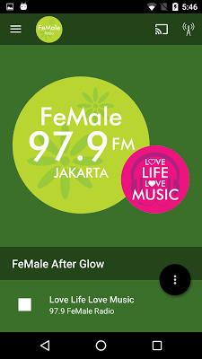 FeMale Radio - screenshot