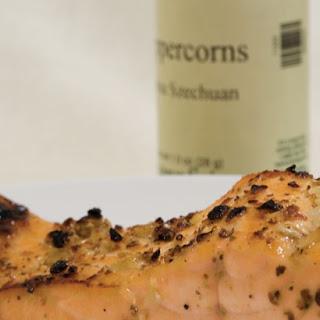 Maple Glazed Salmon with Szechuan Pepper