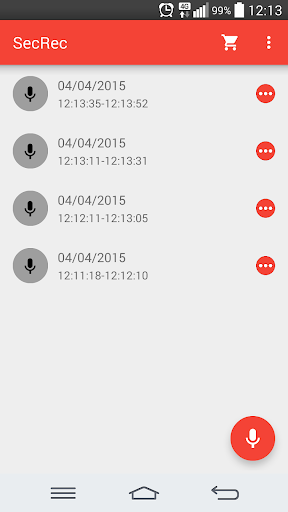【免費音樂App】SecRec - Secret Audio Recorder-APP點子