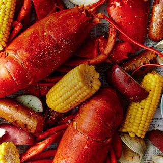 "New England Lobster ""Bake""."