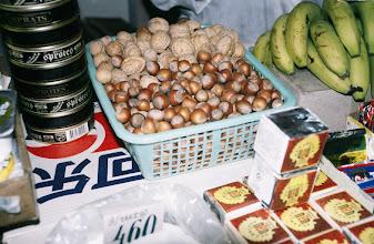 Photo: 03108 ウランバートル/風景/ダライ・エージ(海の母)/食料品専門の市場/栗/バナナ